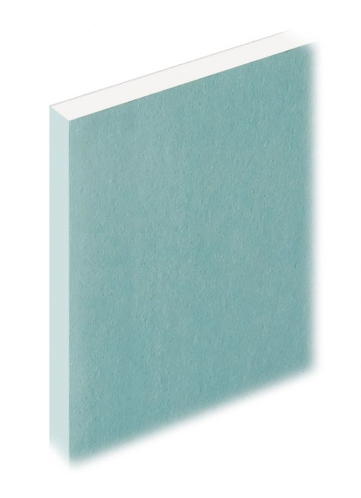 12.5mm Knauf Moisture resistant Plasterboard 1200x2400mm Tapered Edge